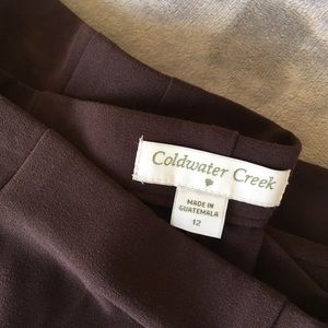 Coldwater Creek Brown Trousers